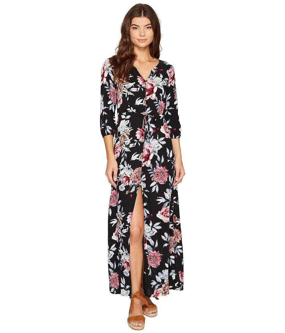 Rip Curl - Wildflower Maxi Dress (Black) Women's Dress