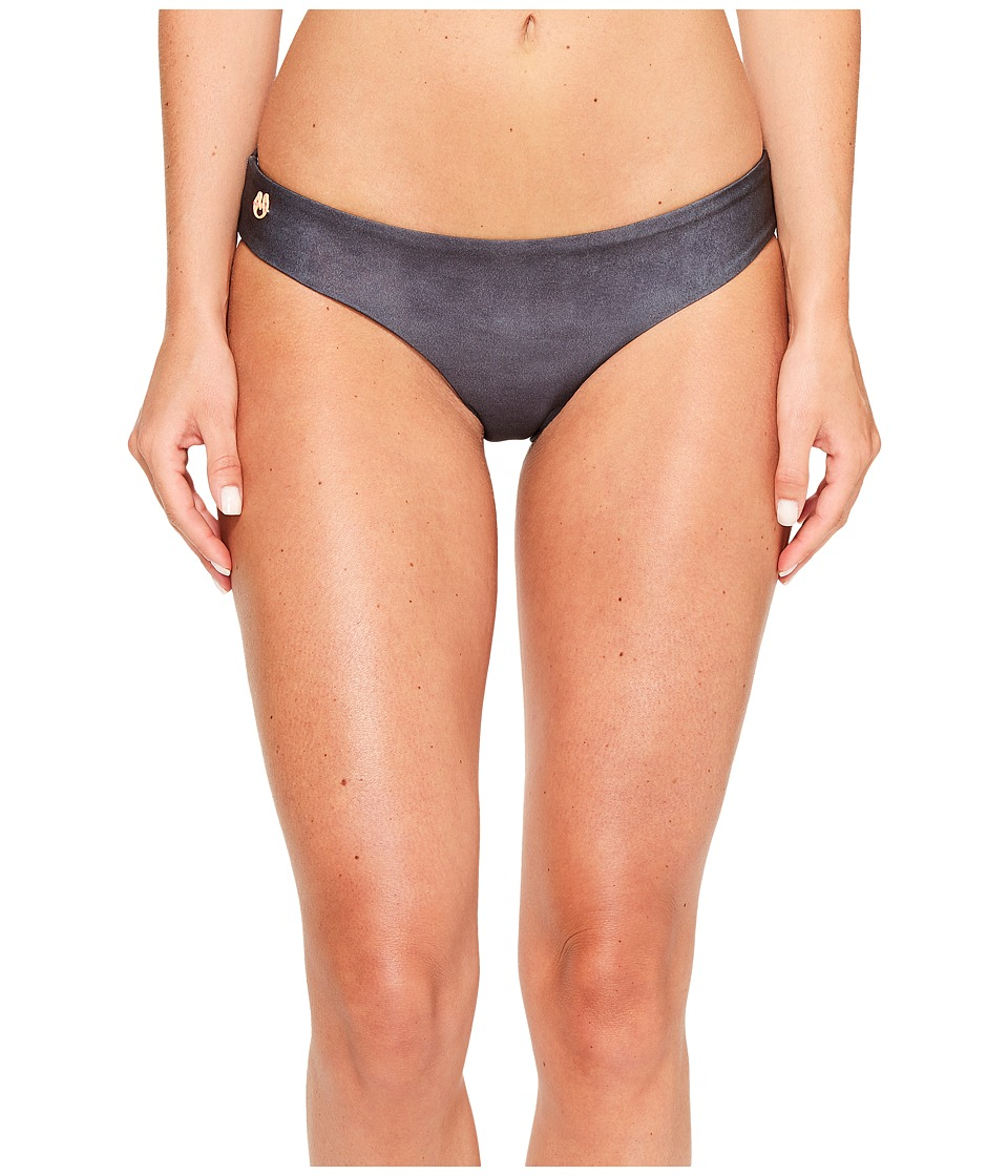 Maaji - Suede Sublime Cheeky Cut Bottom (Black) Women's Swimwear