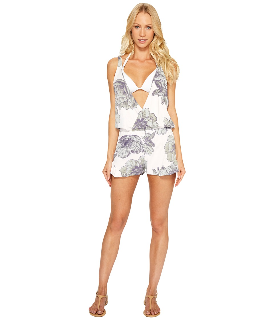 Maaji - Shooting Star Romper Cover-Up (Multicolor) Women's Swimsuits One Piece