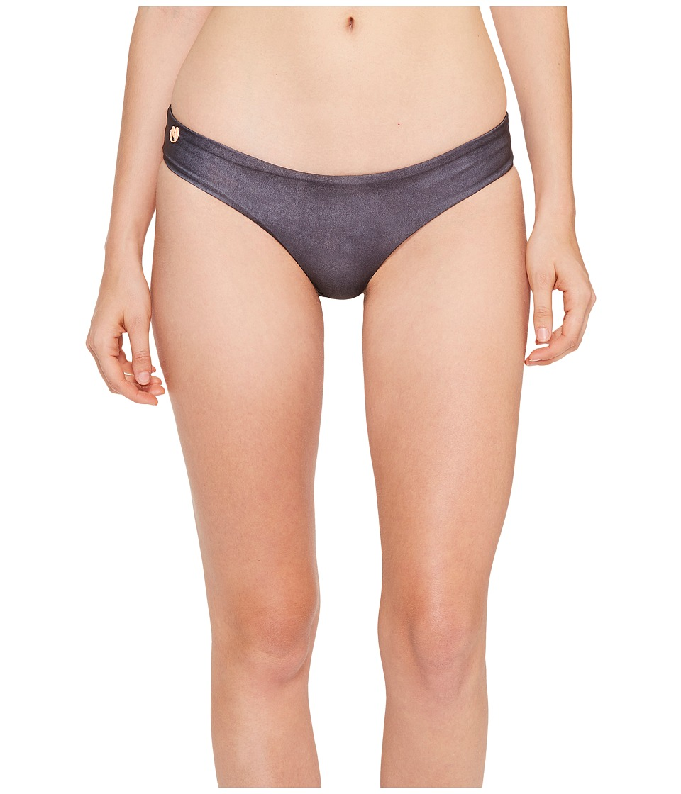 Maaji - Suede Sublime Signature Cut Bottom (Black) Women's Swimwear