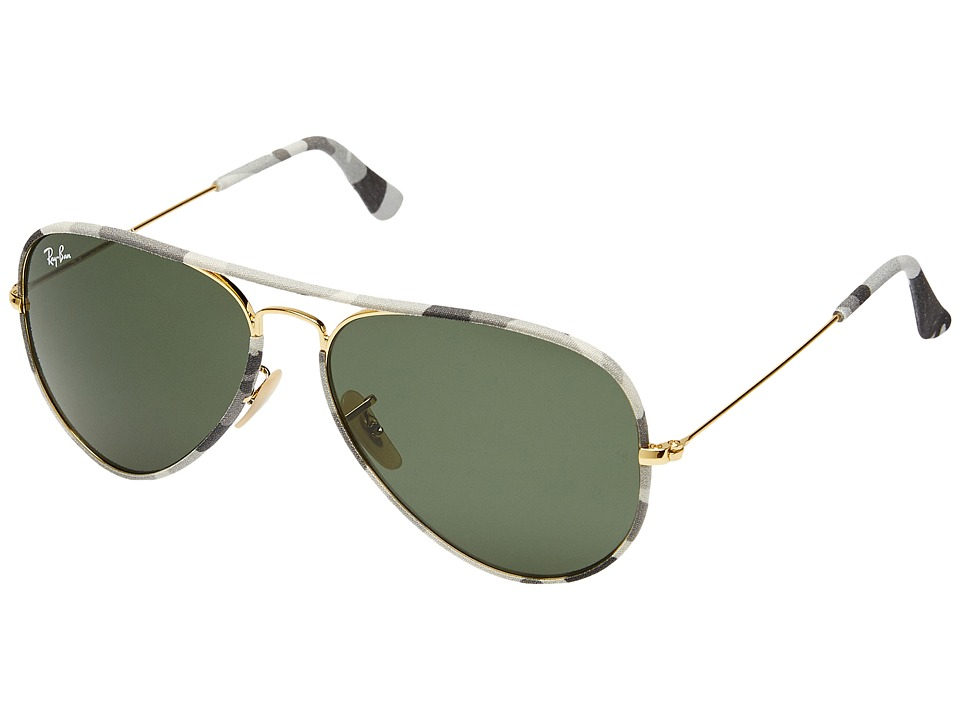 Ray-Ban - RB3025 Aviator 58mm (Gold) Fashion Sunglasses
