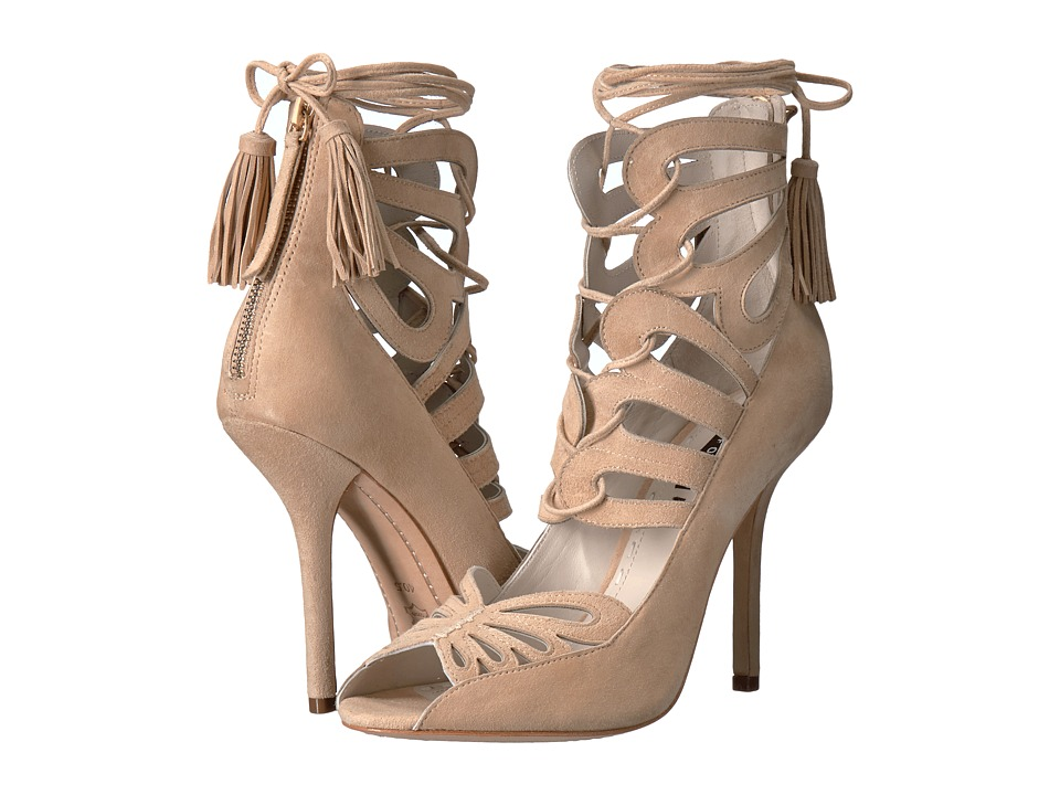 Alice + Olivia - Natalie (Warm Sand Fine Kid Suede) Women's Shoes