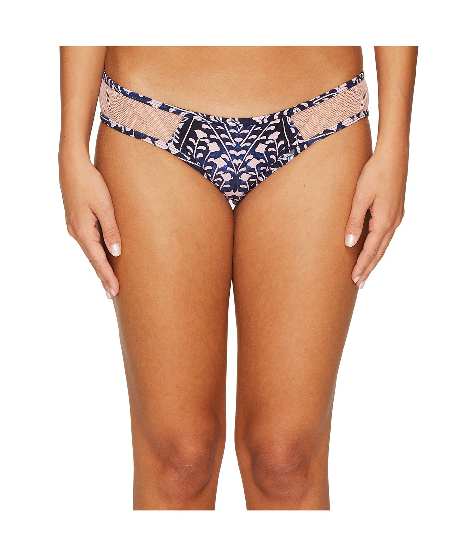 Rip Curl - Sun Shadow Luxe Hipster Bikini Bottom (Navy) Women's Swimwear
