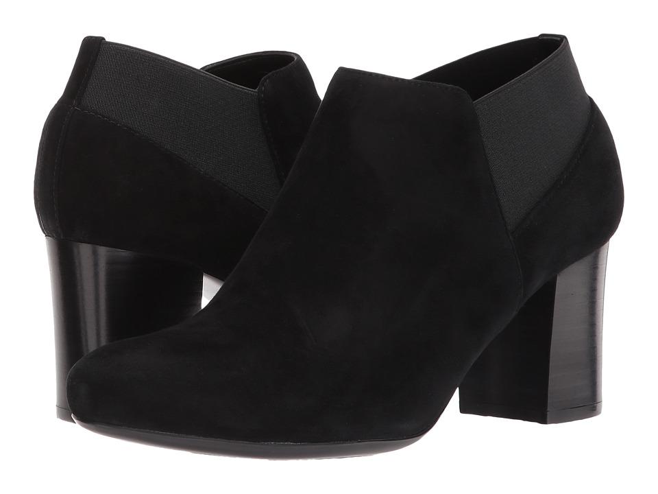 Vaneli - James (Black Ecco Suede) Women's Shoes