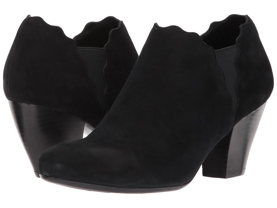 Vaneli - Jules (Black Ecco Suede) Women's Shoes
