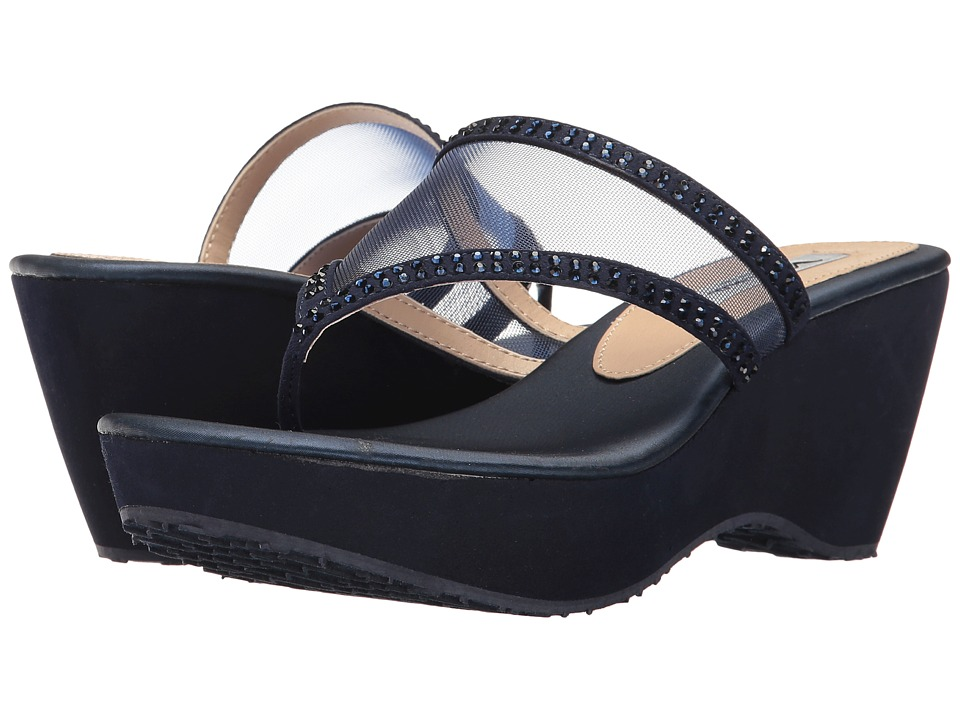 Nina - Dalyne (Navy) Women's Sandals