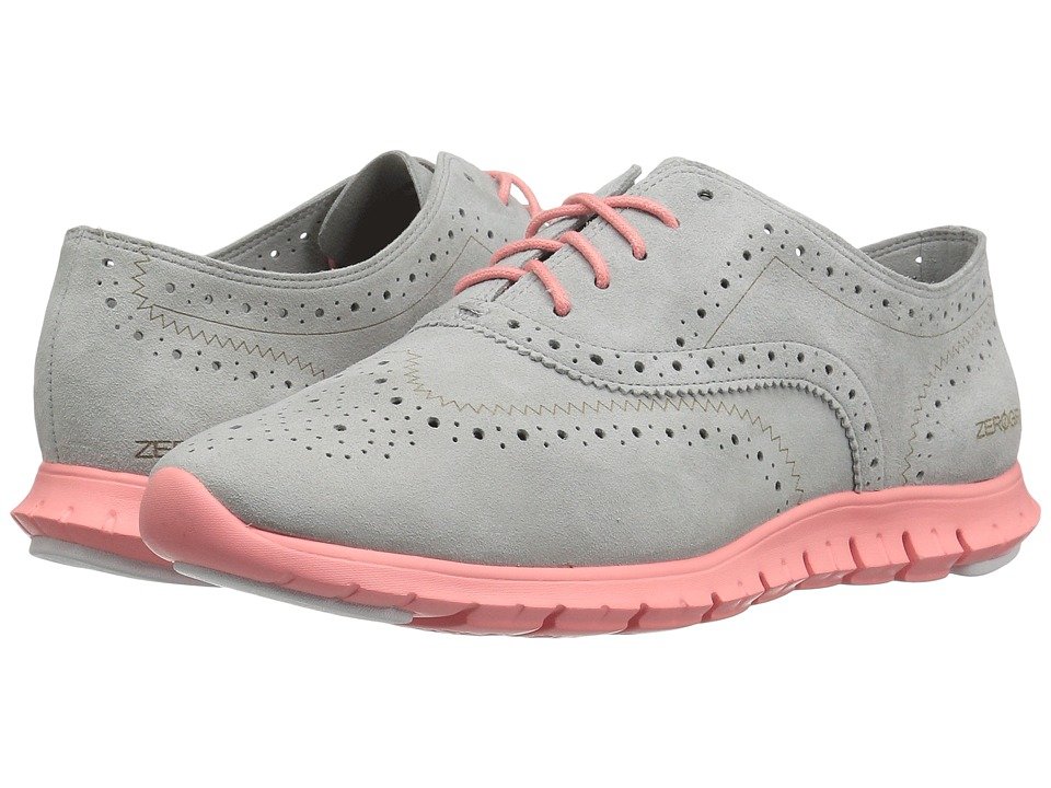 Cole Haan - Zerogrand Wing Oxford (Sliver Mist/Blush) Women's Shoes