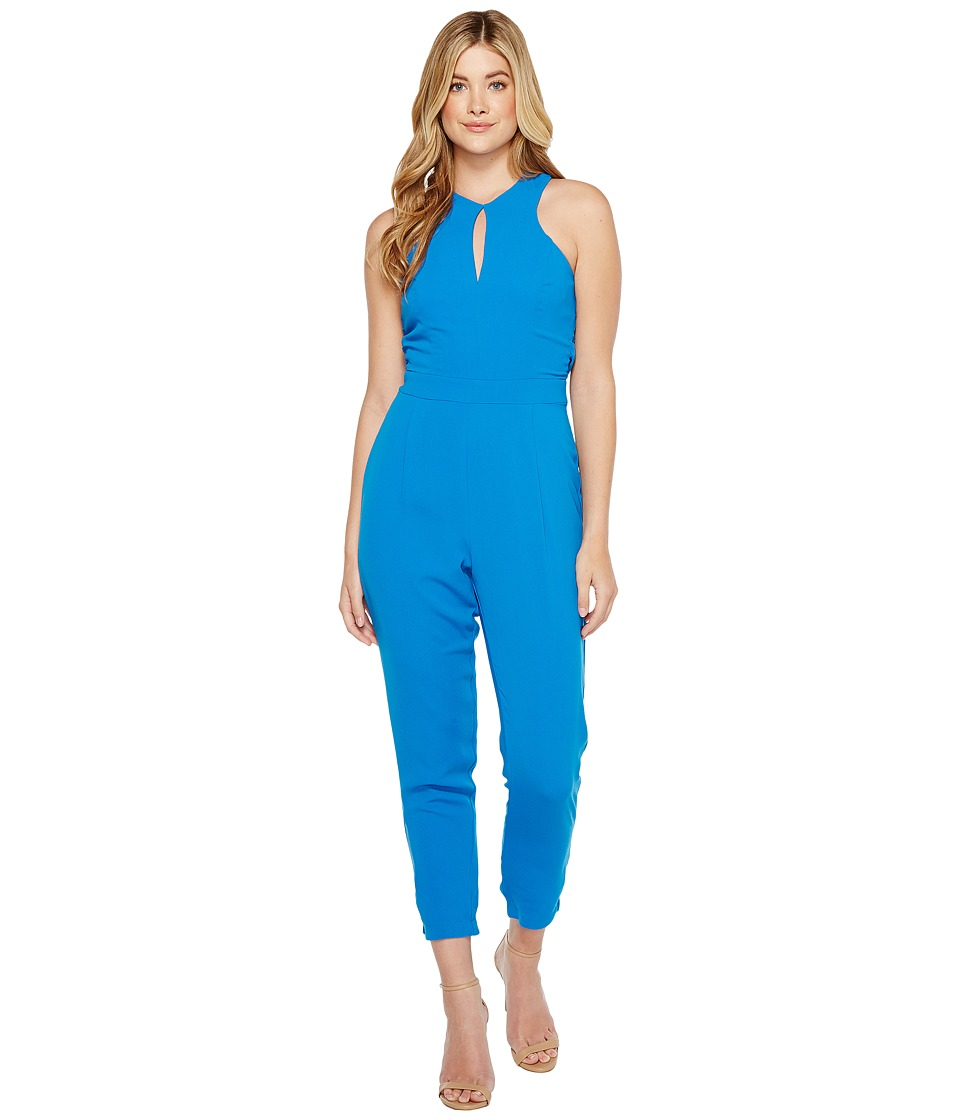 Adelyn Rae - Keira Woven Jumpsuit (Pacific Blue) Women's Jumpsuit & Rompers One Piece