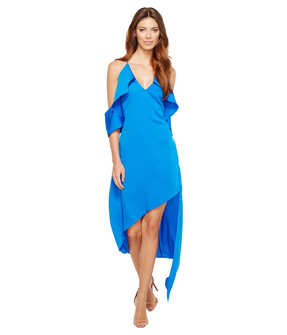 Adelyn Rae - Oliana Woven Slip Dress (Pacific Blue) Women's Dress