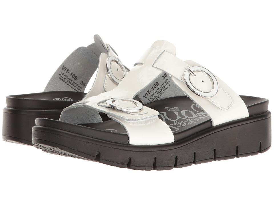 Alegria - Vita (White Patent) Women's Shoes