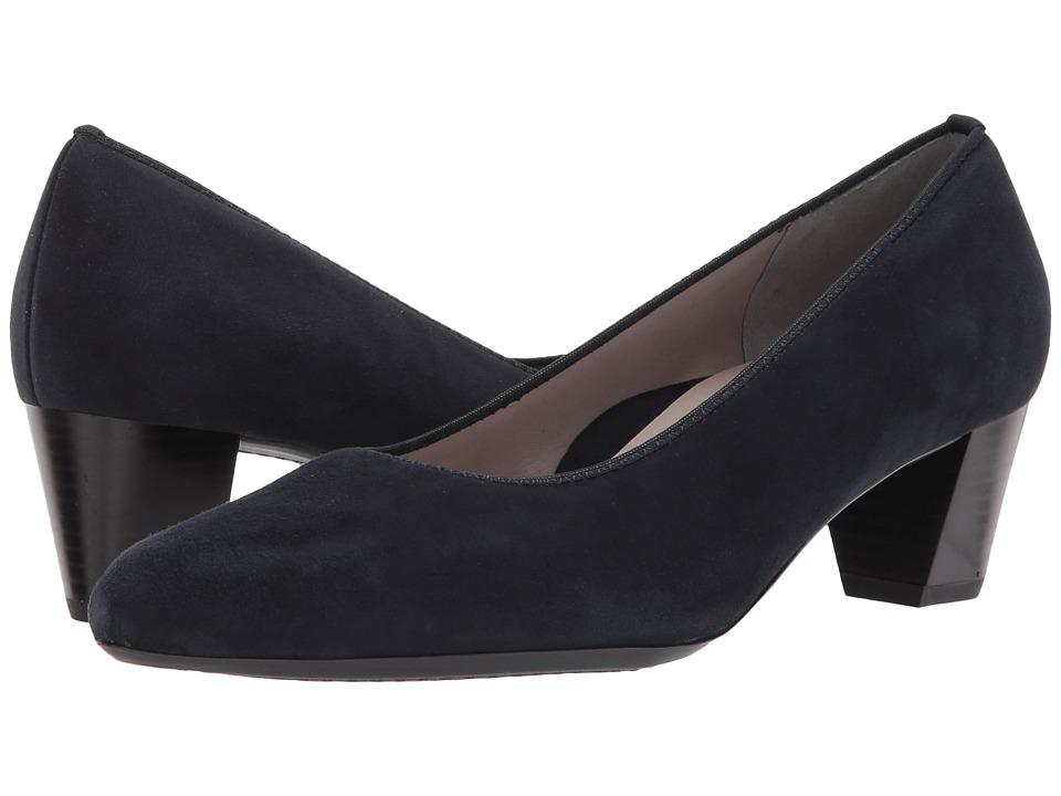 ara Kelly (Blau Suede) Women's Shoes