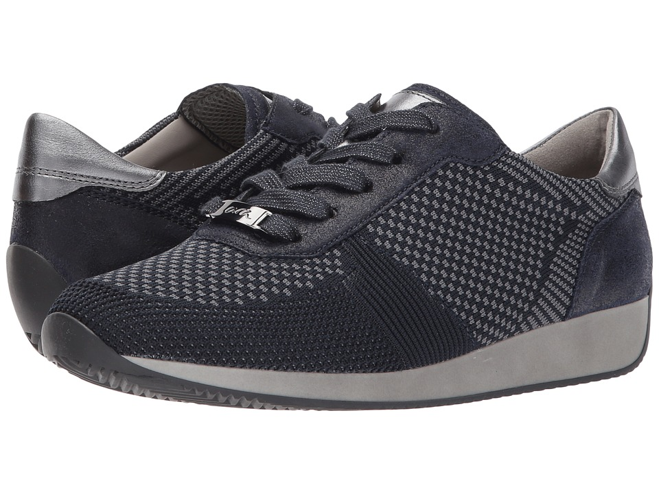 ara - Lilly (Blue Woven) Women's Shoes