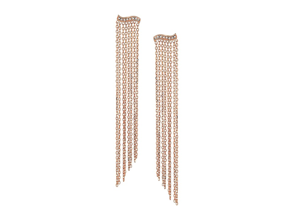 Michael Kors - Wonderlust Statement Earrings (Rose Gold) Earring