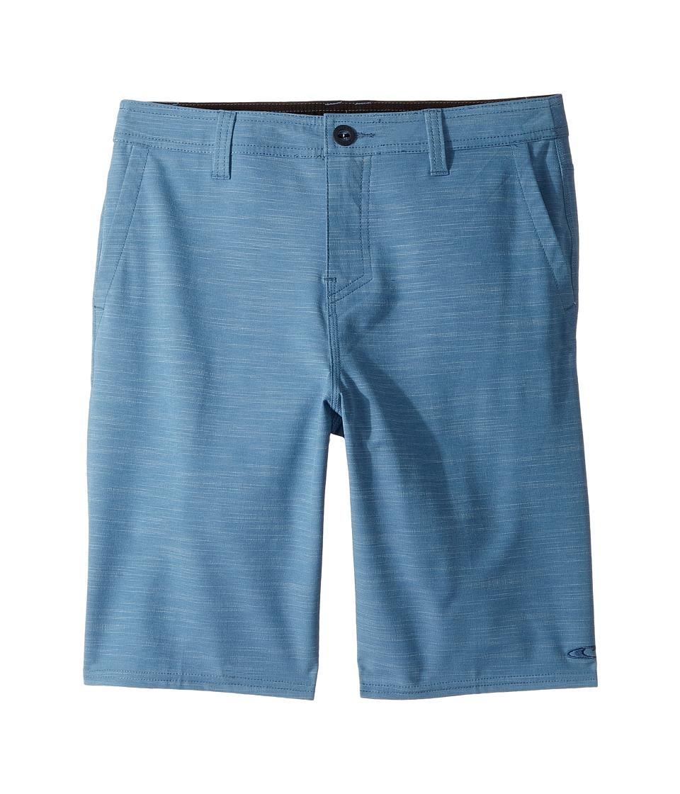 O'Neill Kids - Locked Slub Hybrid Shorts (Big Kids) (Dusty Blue) Boy's Shorts