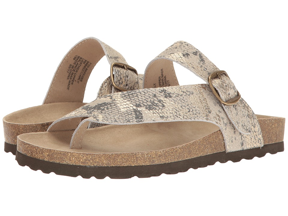 White Mountain - Carly (Gold Exotic) Women's Shoes