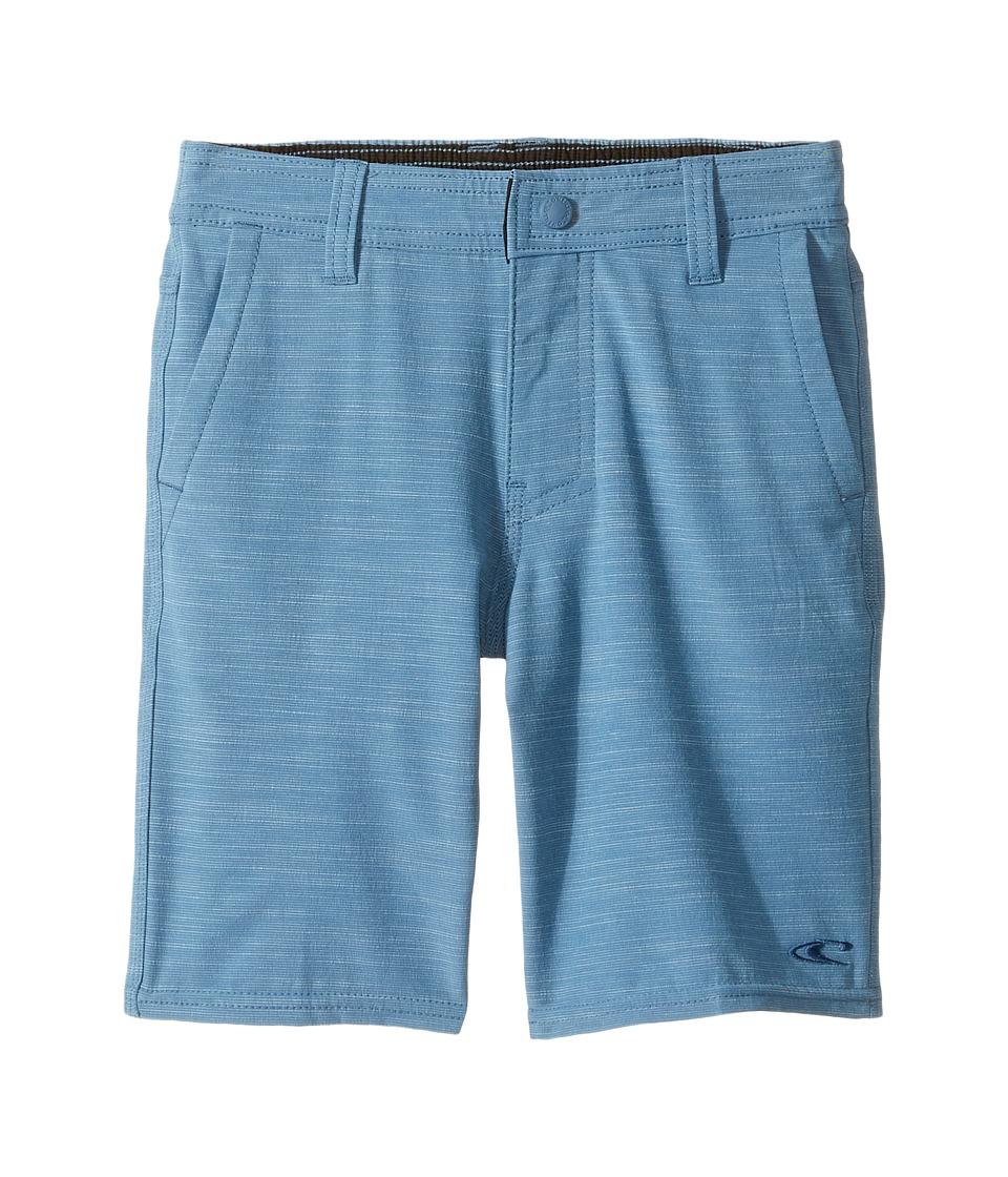O'Neill Kids - Locked Slub Hybrid Shorts (Toddler/Little Kids) (Dusty Blue) Boy's Shorts