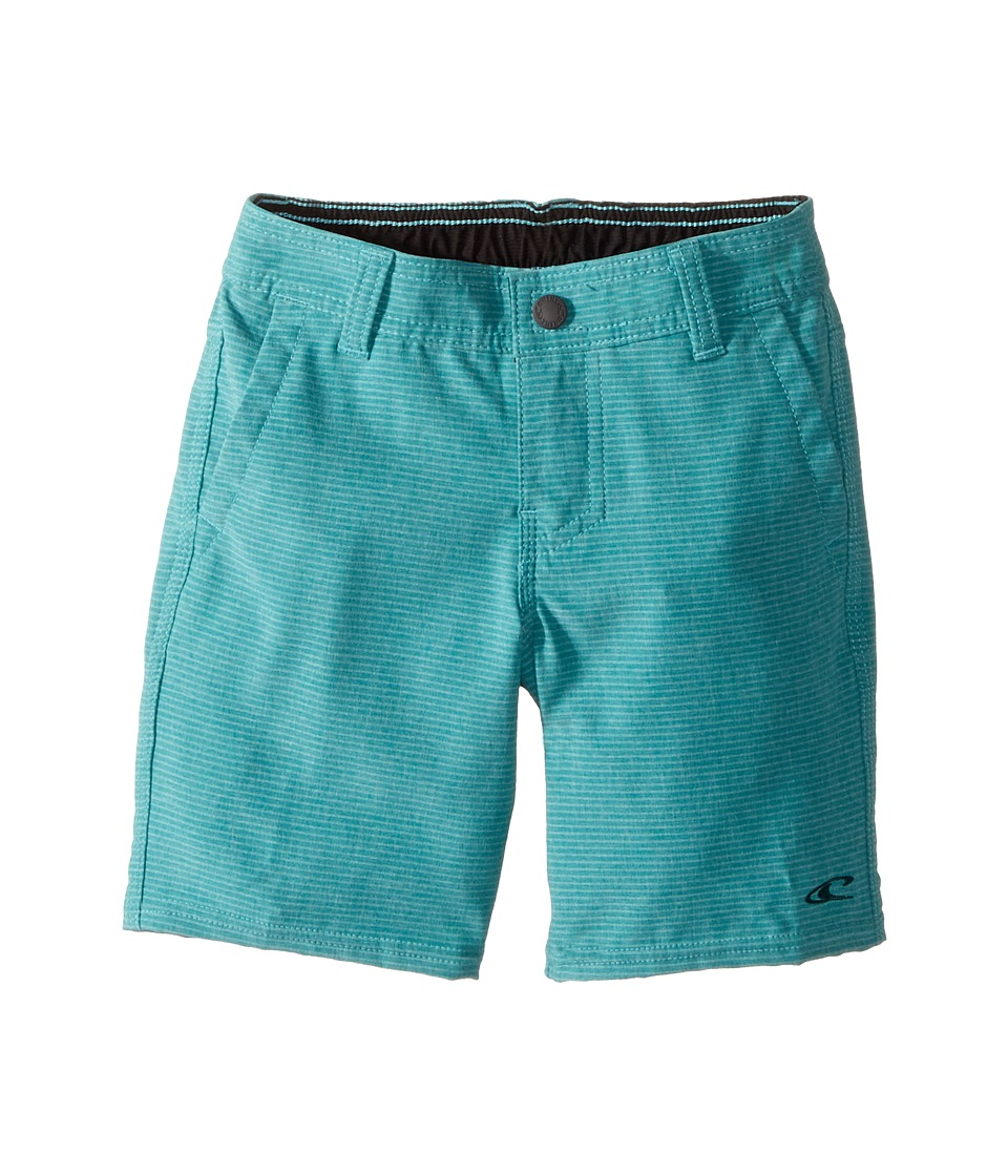O'Neill Kids - Locked Stripe Hybrid Shorts (Toddler/Little Kids) (Jade) Boy's Shorts