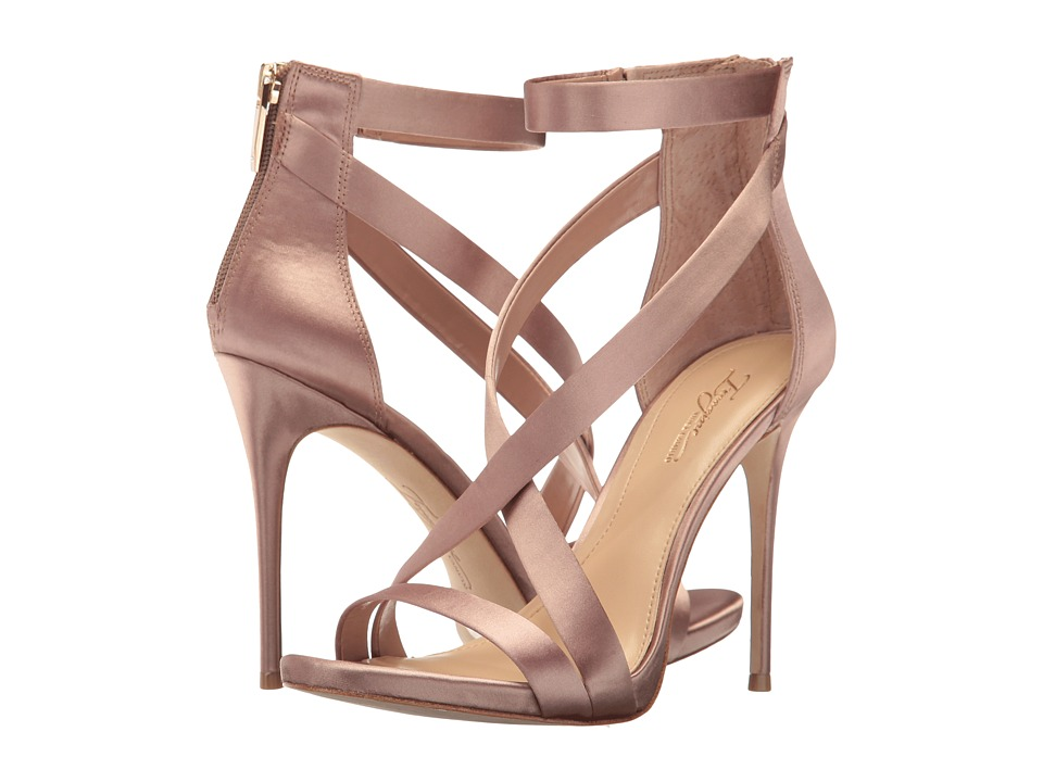 Imagine Vince Camuto Devin (Warm Taupe Deluxe Satin) High Heels