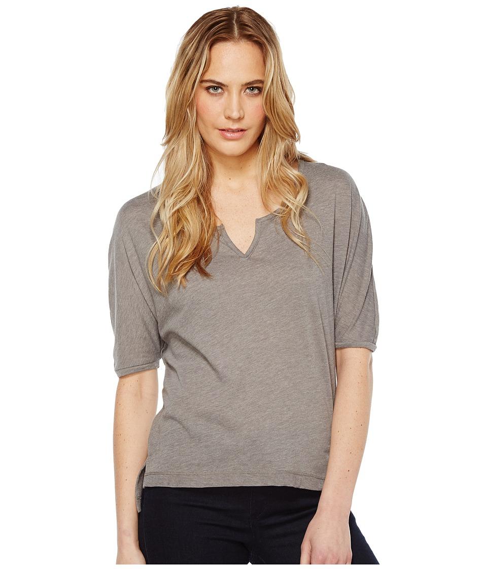 Alternative - Eco Gauze Roam Short Sleeve Tee (Grey Storm) Women's T Shirt