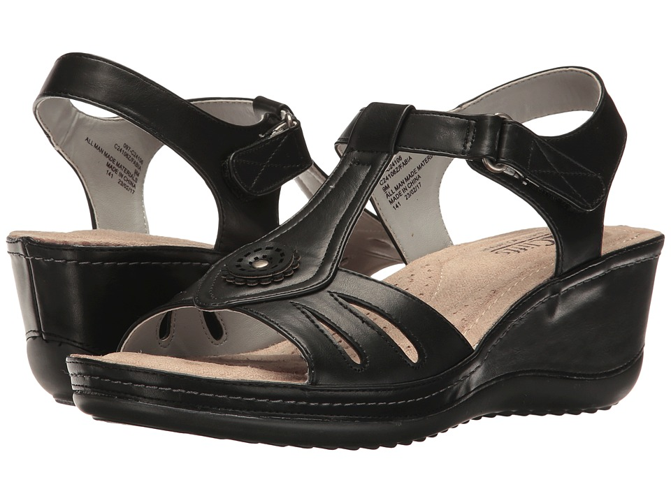 White Mountain - Fabia (Black) Women's Shoes