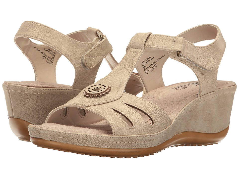 White Mountain - Fabia (Natural) Women's Shoes