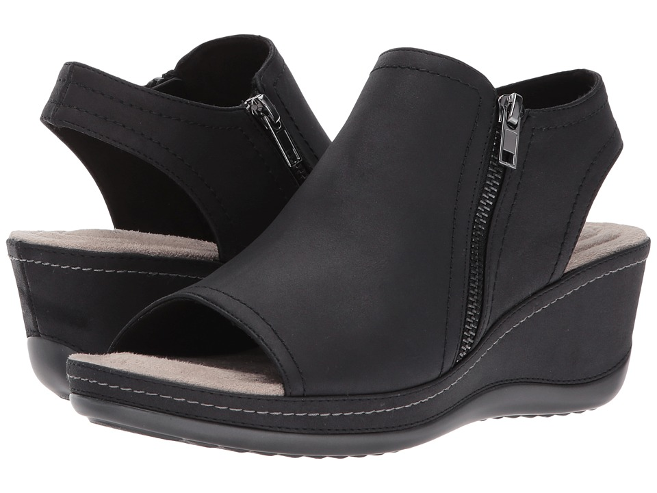 White Mountain - Farrell (Black Suede) Women's Shoes