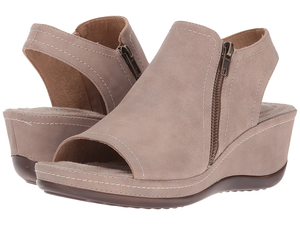 White Mountain - Farrell (Taupe Suede) Women's Shoes