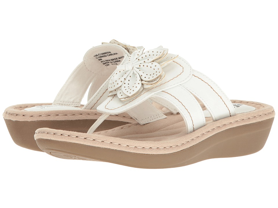 White Mountain - Carlina (White) Women's Shoes