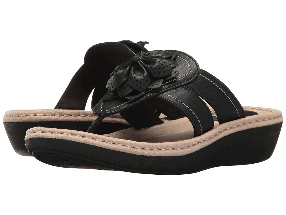 White Mountain - Carlina (Black) Women's Shoes
