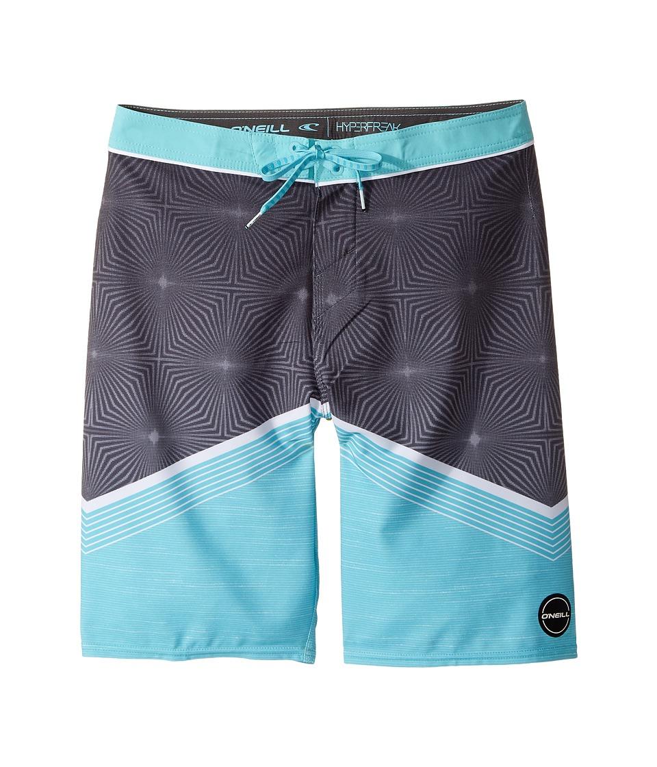O'Neill Kids - Hyperfreak Illusion Boardshorts (Big Kids) (Turquoise) Boy's Swimwear