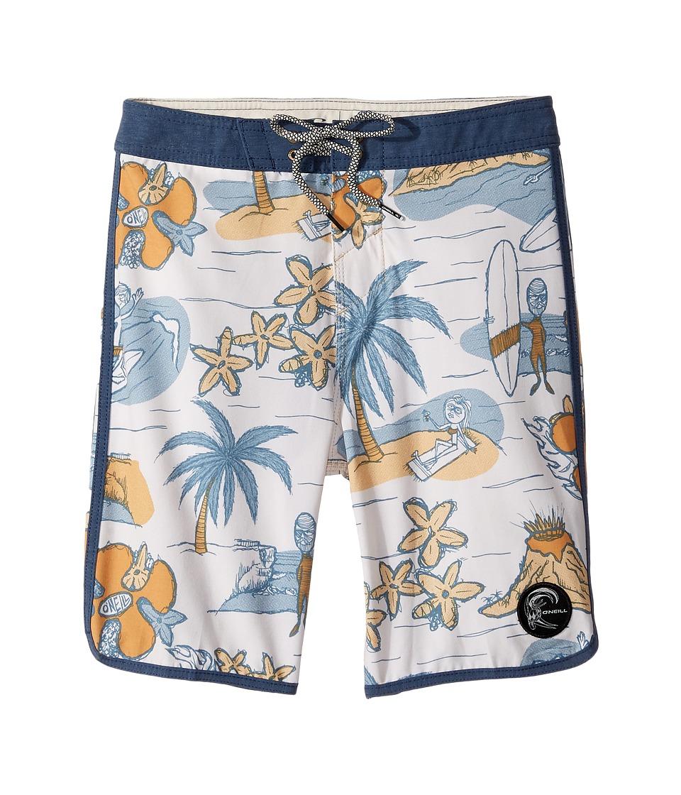 O'Neill Kids - Hyperfreak Nick Simich Boardshorts (Big Kids) (Bone) Boy's Swimwear