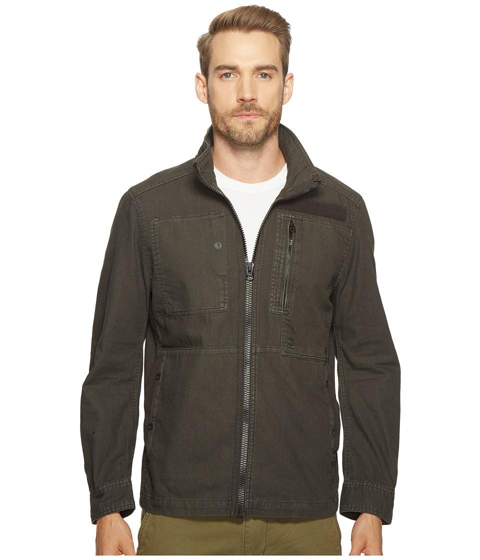 G-Star - Powel Overshirt Long Sleeve (Raven) Men's Clothing
