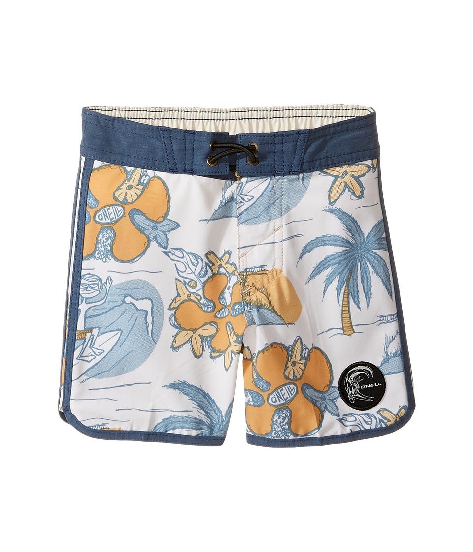 O'Neill Kids - Hyperfreak Nick Simich Boardshorts (Toddler/Little Kids) (Bone) Boy's Swimwear