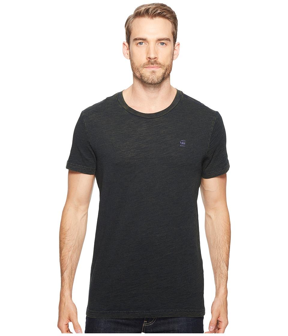 G-Star - Wynzar R T Short Sleeve (Indigo/Dark Heather) Men's Short Sleeve Pullover