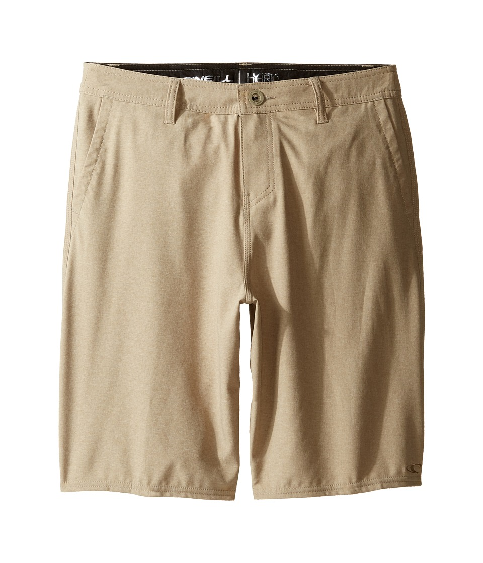 O'Neill Kids - Loaded Heather Hybrid Boardshorts (Toddler/Little Kids) (Khaki) Boy's Swimwear
