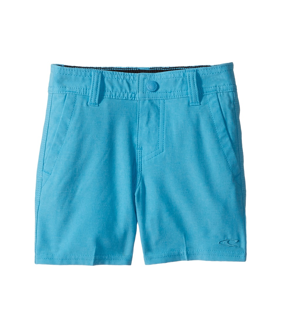 O'Neill Kids - Loaded Heather Hybrid Boardshorts (Toddler/Little Kids) (Light Blue Heather) Boy's Swimwear