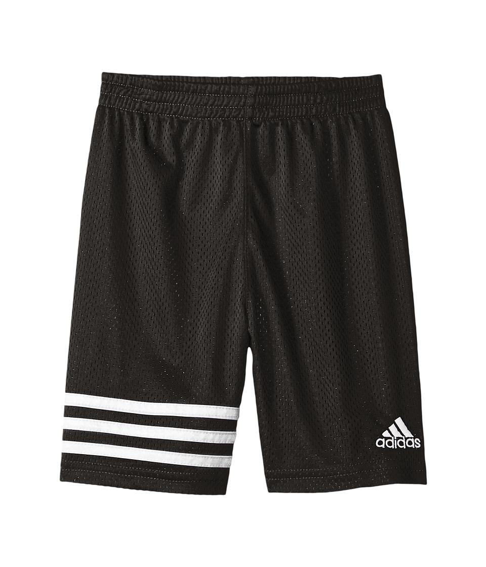 adidas Kids - Defender Impact Shorts (Toddler/Little Kids) (Black) Boy's Shorts