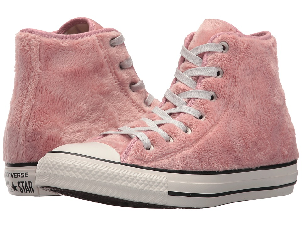 Converse - Chuck Taylor(r) All Star(r) Lux Hi (Rose Tan/Black/White) Women's Classic Shoes