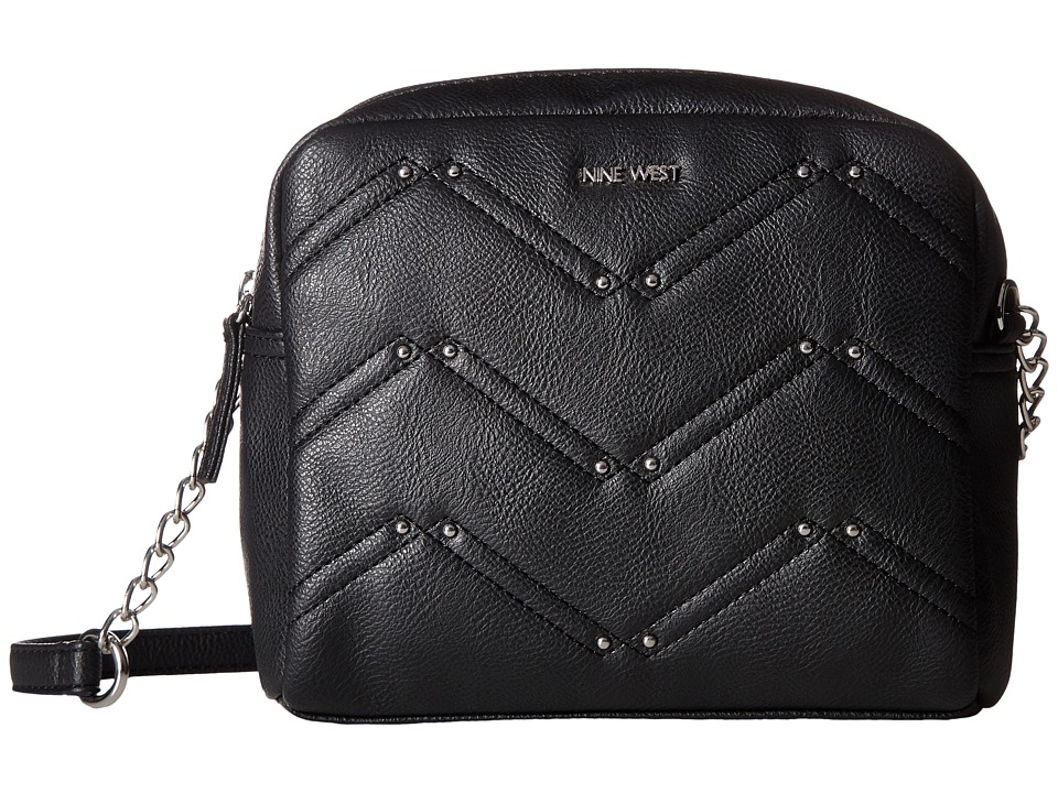 Nine West - Weekend Pass (Black/Black (Gussets + Handles)) Handbags