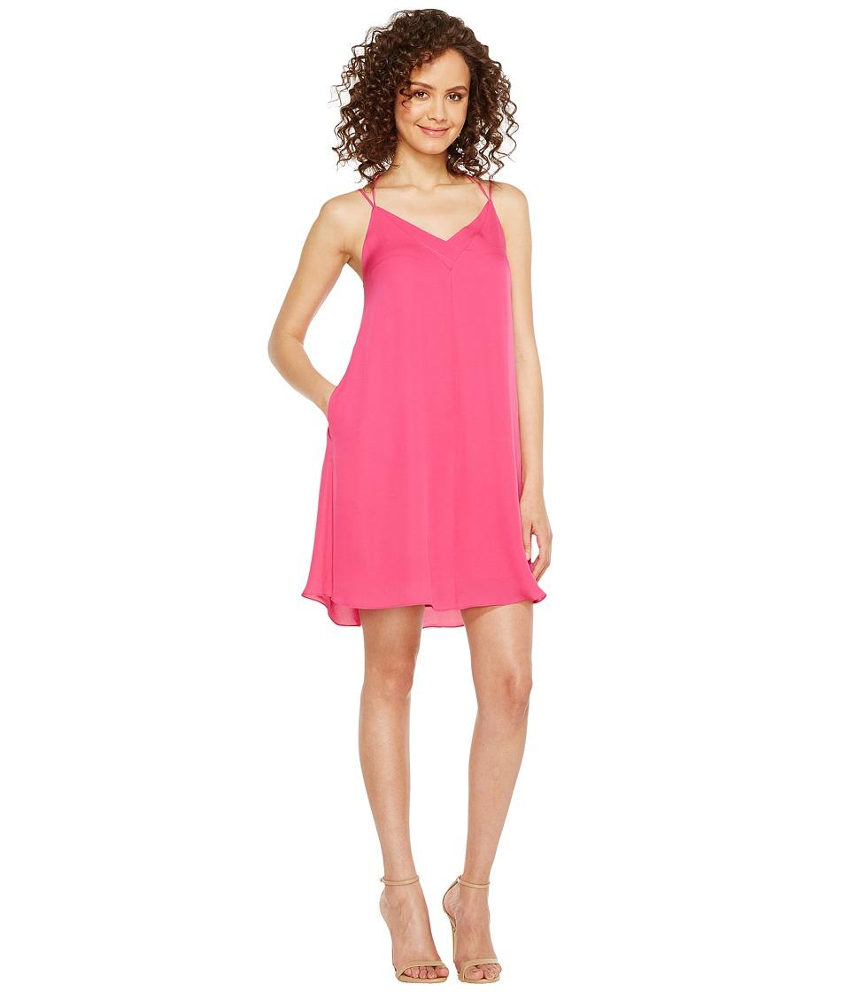 HEATHER - Sophia Silk Spaghetti Swing Dress (Peak) Women's Dress