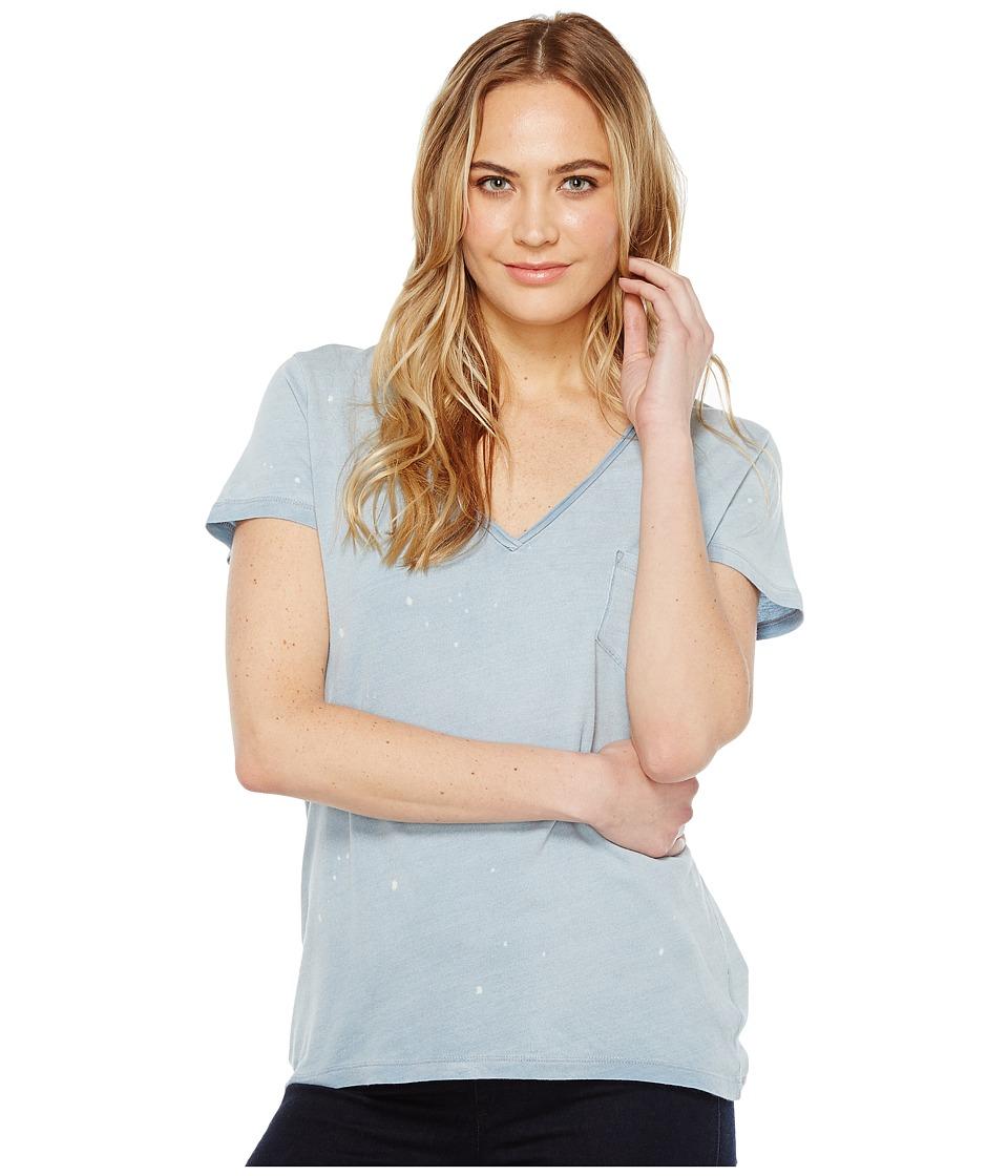 Joe's Jeans - Fatima V-Neck Tee (Medium Stonewash) Women's T Shirt