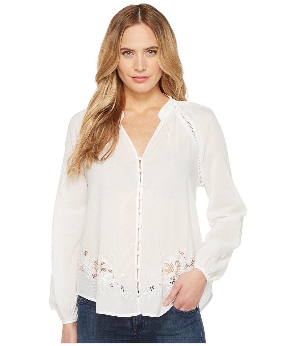 Joe's Jeans - Flora Blouse (White Lawn) Women's Blouse