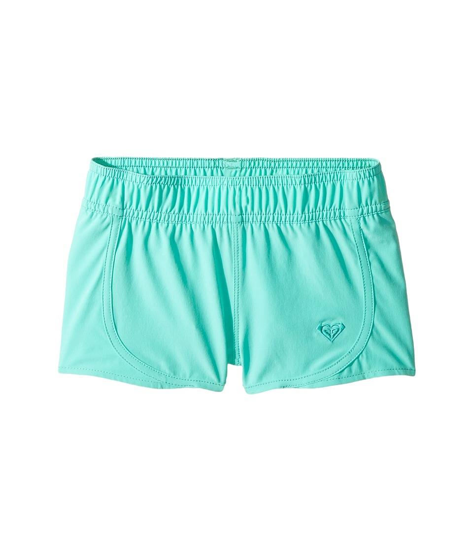 Roxy Kids - Essentials Teenie Wahine Boardshorts (Toddler/Little Kids) (Bermuda) Girl's Swimwear