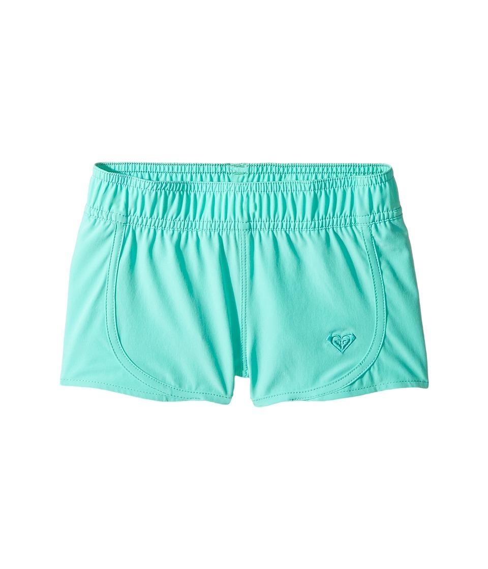 Roxy Kids - Essentials Teenie Wahine Boardshorts (Toddler/Little Kids) (Bermuda) Girl's Swimwear