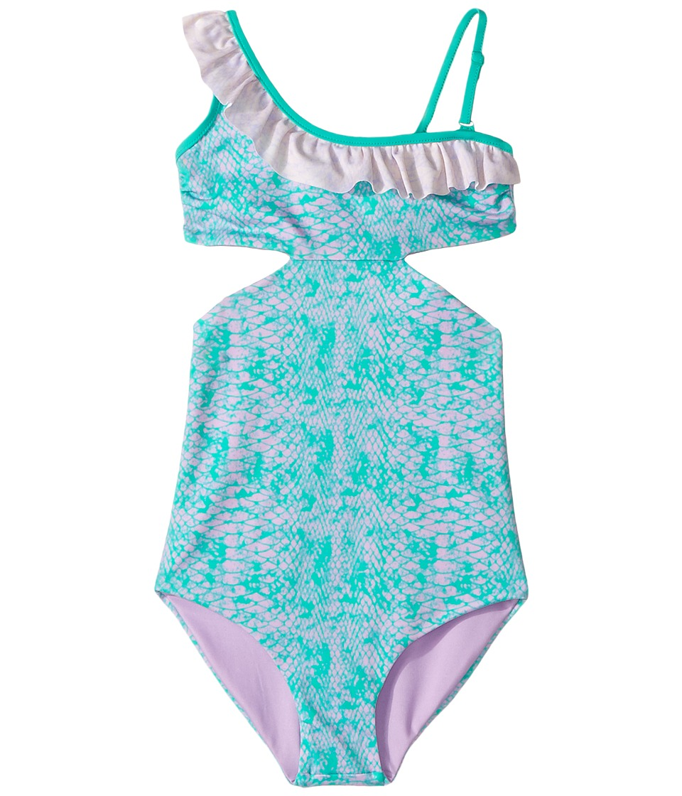 Bowie X James - Cococolada One-Piece (Toddler/Little Kids/Big Kids) (Green) Girl's Swimsuits One Piece