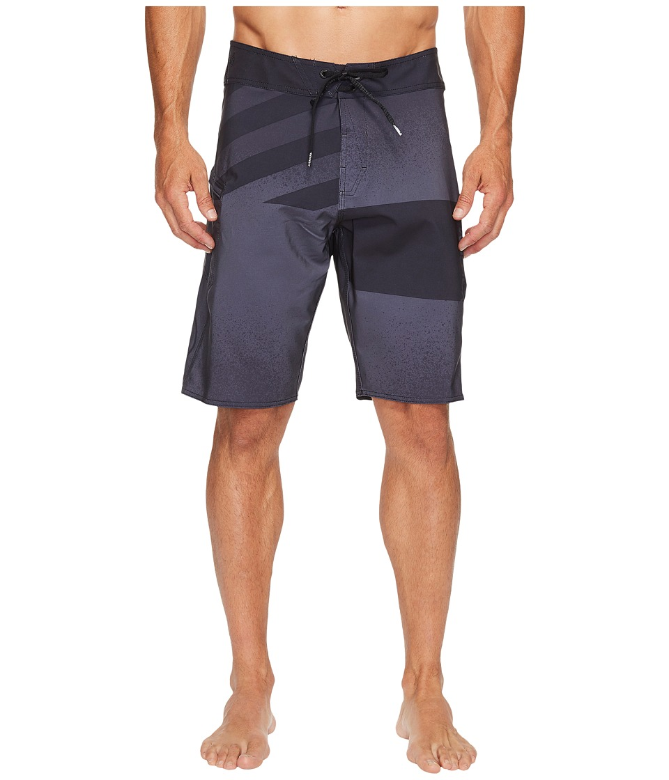 Volcom - Lido Block Mod 21 Boardshorts (Asphalt Black) Men's Swimwear