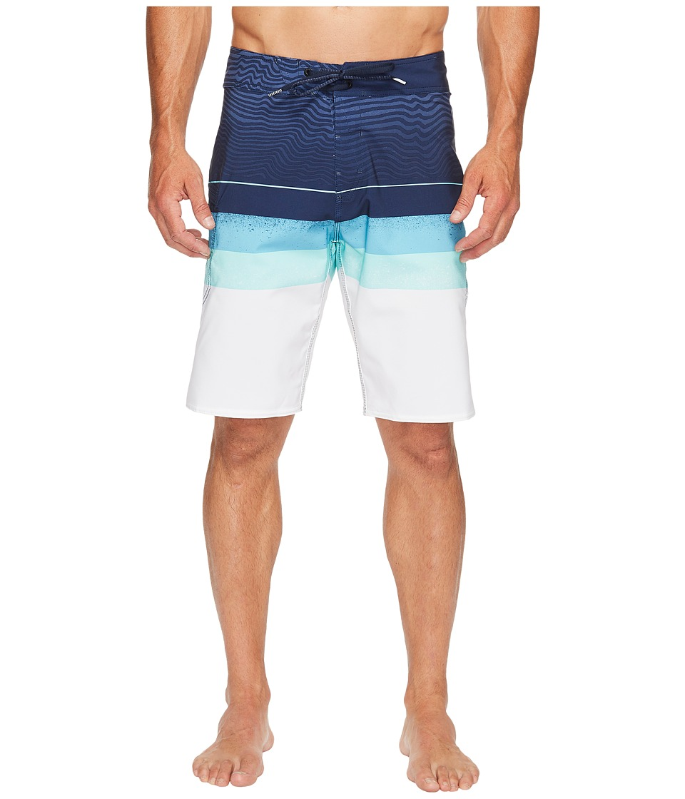 Volcom - Lido Liney Mod 21 Boardshorts (Dusty Aqua) Men's Swimwear