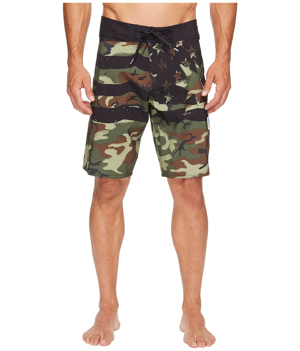 Volcom - 4th of July Style 20 Boardshorts (Army) Men's Swimwear