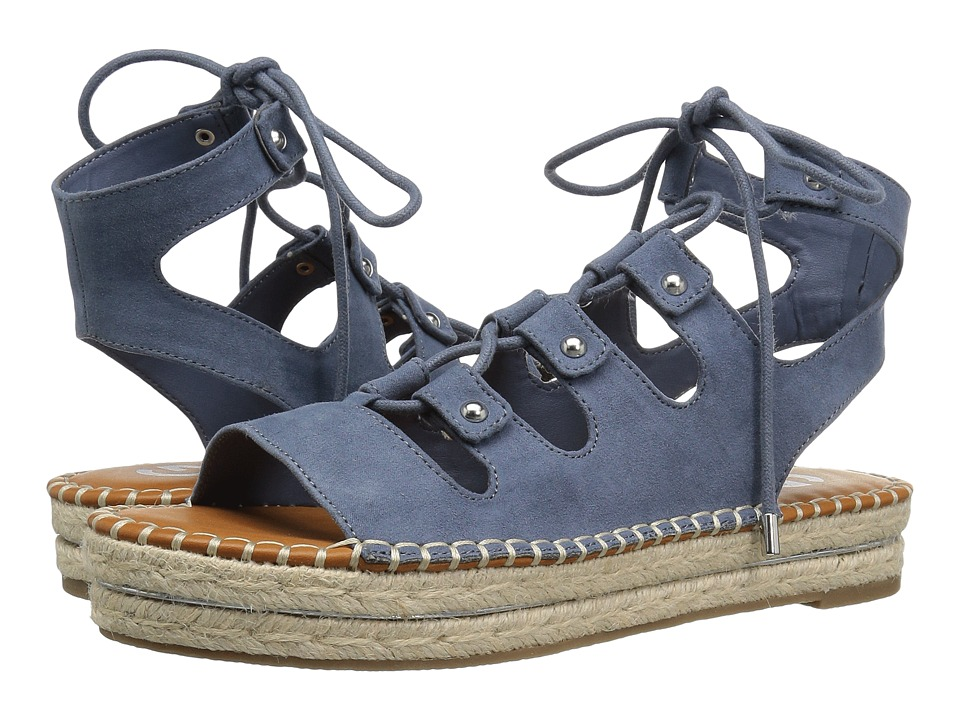G by GUESS Keeny (Blue Wash Camoscio Suede) Women