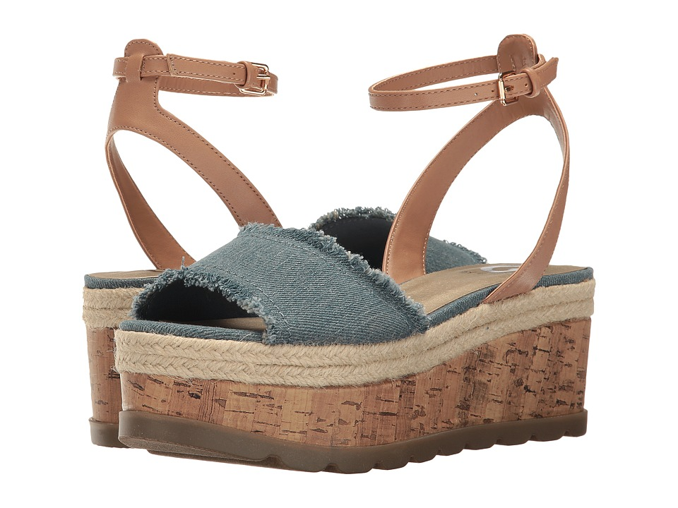 G by GUESS Baker (Blue Wash/Biscotti Wrecked) Women